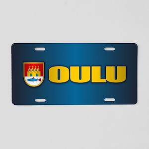 Oulu Aluminum License Plate