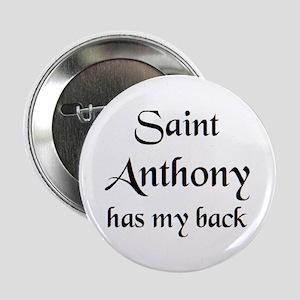"saint anthony 2.25"" Button"
