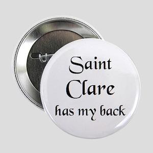 """saint clare 2.25"""" Button"""