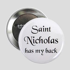 """saint nicholas 2.25"""" Button"""