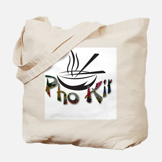 Pho Kit Floral Tote Bag