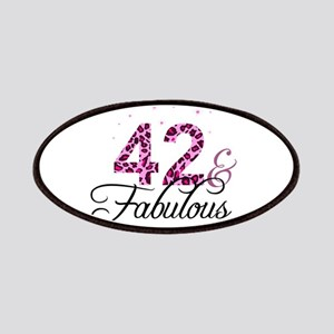 42 and Fabulous Patch