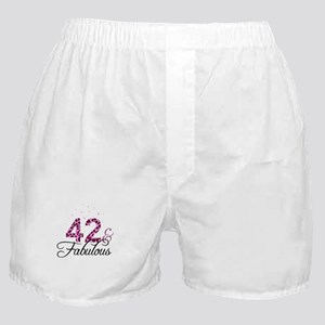 42 and Fabulous Boxer Shorts