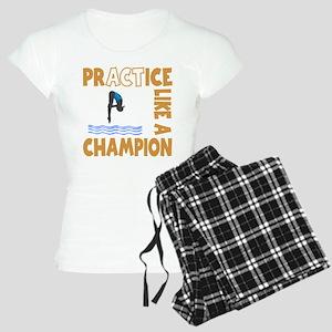 PRACTICE DIVING Women's Light Pajamas