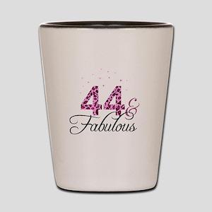 44 and Fabulous Shot Glass