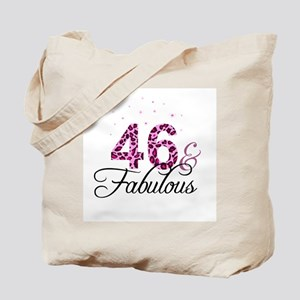 46 and Fabulous Tote Bag
