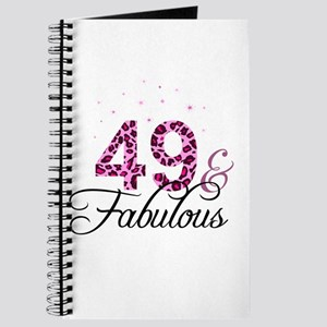 49 and Fabulous Journal