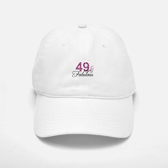 49 and Fabulous Baseball Baseball Cap