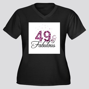 49 and Fabulous Plus Size T-Shirt