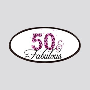 50 and Fabulous Patch
