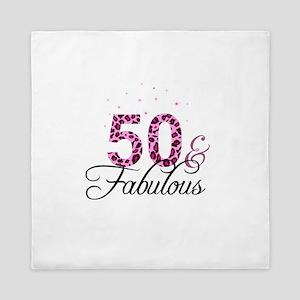 50 and Fabulous Queen Duvet