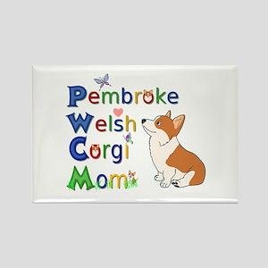Welsh Corgi Mom Magnets