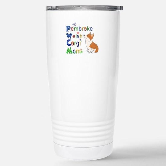 Welsh Corgi Mom Travel Mug