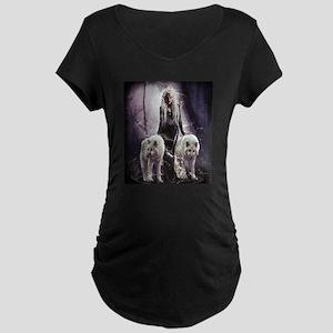 She Wolf Maternity T-Shirt