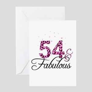 54 and Fabulous Greeting Cards