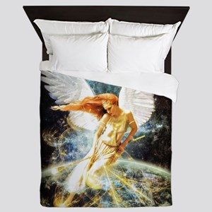 Guardian Angel Queen Duvet