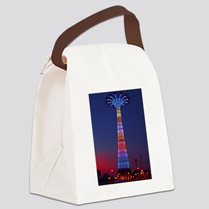 CONEY ISLAND'S WORLD FAMOUS PARAC Canvas Lunch Bag