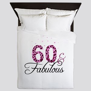 60 and Fabulous Queen Duvet