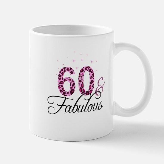 60 and Fabulous Mugs