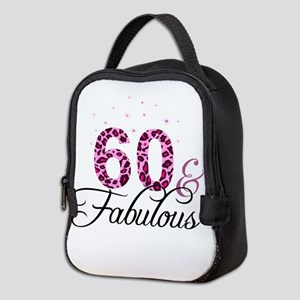 60 and Fabulous Neoprene Lunch Bag