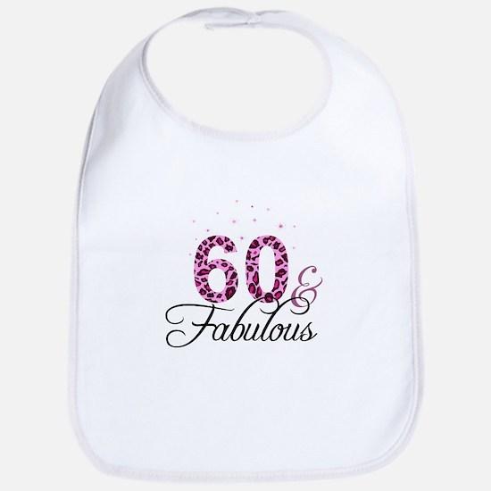 60 and Fabulous Bib