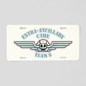Extra-Ancillary Care Team Aluminum License Plate