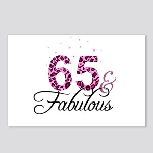 65 and Fabulous Postcards (Package of 8)