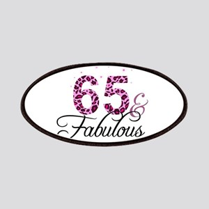 65 and Fabulous Patch