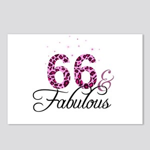 66 and Fabulous Postcards (Package of 8)
