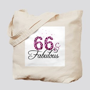 66 and Fabulous Tote Bag