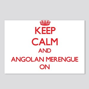 Keep Calm and Angolan Mer Postcards (Package of 8)