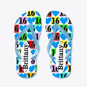 16th Love Flip Flops