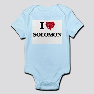 I Love Solomon Body Suit