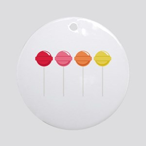 Lollipops Candy Ornament (Round)