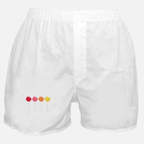 Lollipops Candy Boxer Shorts