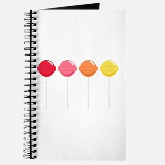 Lollipops Candy Journal