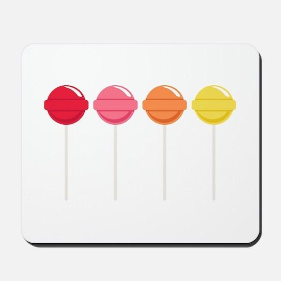 Lollipops Candy Mousepad