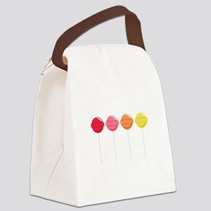 Lollipops Candy Canvas Lunch Bag