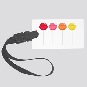 Lollipops Candy Luggage Tag