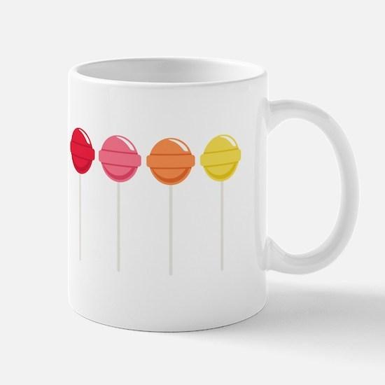 Lollipops Candy Mugs