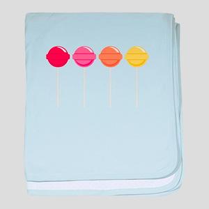 Lollipops Candy baby blanket