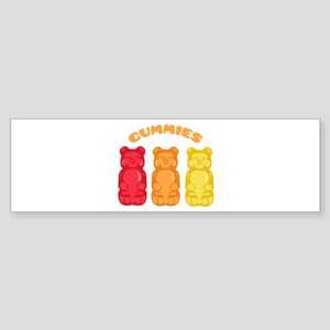 Gummies Bumper Sticker