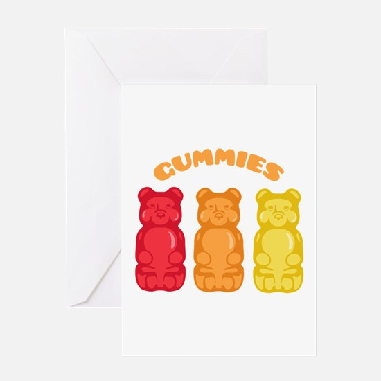 Gummies Greeting Cards