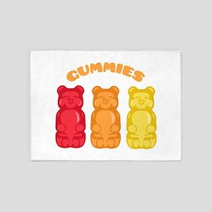 Gummies 5'x7'Area Rug