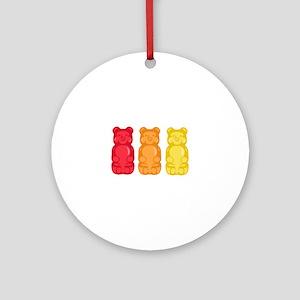 Gummy Bears Ornament (Round)