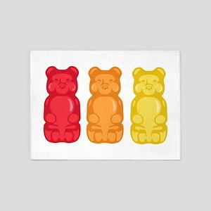 Gummy Bears 5'x7'Area Rug