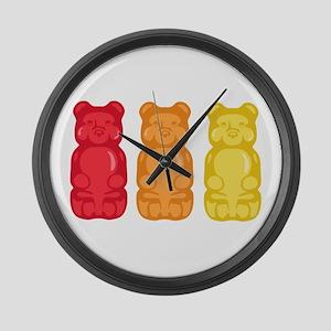 Gummy Bears Large Wall Clock