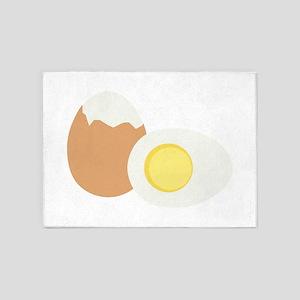Hard Boiled Egg 5'x7'Area Rug