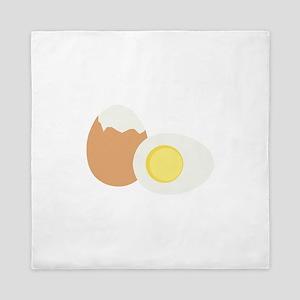 Hard Boiled Egg Queen Duvet