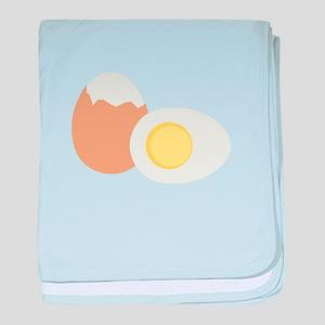 Hard Boiled Egg baby blanket